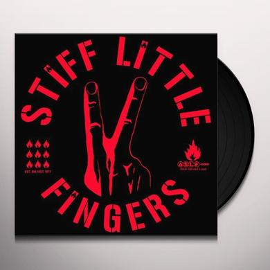 Stiff Little Fingers GREATEST HITS LIVE Vinyl Record - UK Release