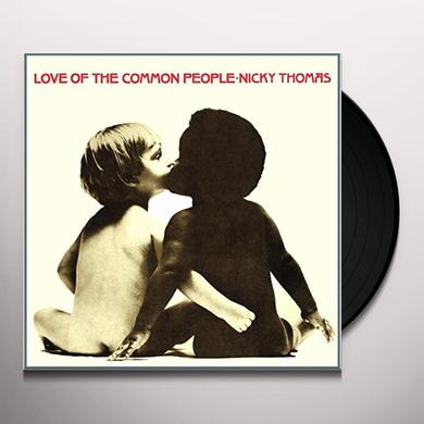 Nicky Thomas LOVE OF THE COMMON PEOPLE Vinyl Record - UK Import