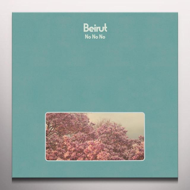 Beirut NO NO NO Vinyl Record - Blue Vinyl, Colored Vinyl, Green Vinyl