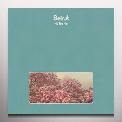 Beirut NO NO NO Vinyl Record - Blue Vinyl, Colored Vinyl, Green Vinyl