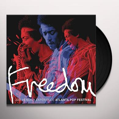 Jimi Hendrix FREEDOM: ATLANTA POP FESTIVAL Vinyl Record - Gatefold Sleeve, 200 Gram Edition