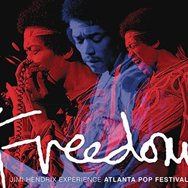 Jimi Hendrix FREEDOM: ATLANTA POP FESTIVAL Vinyl Record - Gatefold Sleeve, 200 Gram Edition