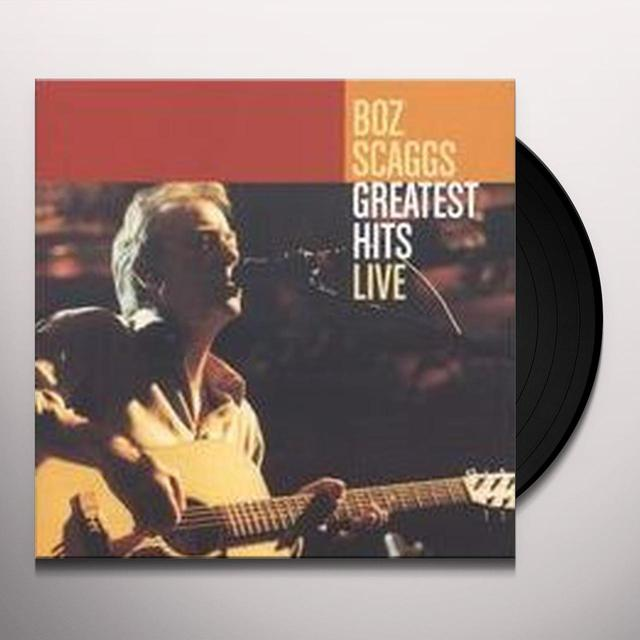 Boz Scaggs GREATEST HITS Vinyl Record