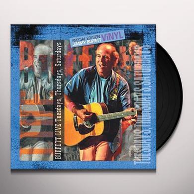 Jimmy Buffett LIVE TUESDAY'S THURSDAY'S & SATURDAY'S Vinyl Record
