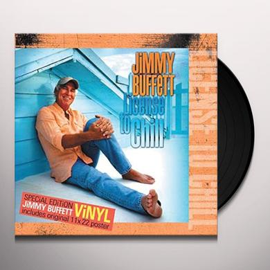 Jimmy Buffett LICENSE TO CHILL Vinyl Record