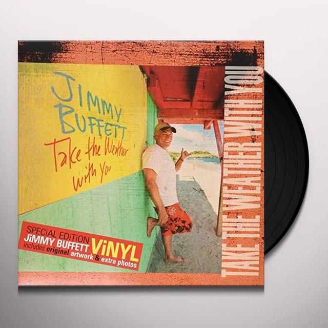Jimmy Buffett TAKE THE WEATHER WITH YOU Vinyl Record