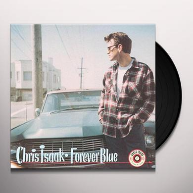 Chris Isaak FOREVER BLUE Vinyl Record