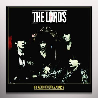 Lords of the New Church METHOD TO OUR MADNESSS Vinyl Record - Red Vinyl