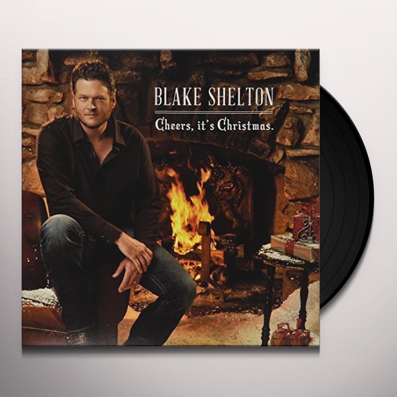blake shelton cheers its christmas vinyl record - Blake Shelton Christmas