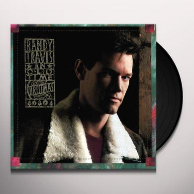Randy Travis AN OLD TIME CHRISTMAS Vinyl Record