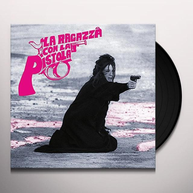 Peppino De Luca LA RAGAZZA CON LA PISTOLA Vinyl Record