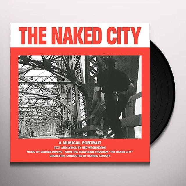 George Duning / Ned Washington NAKED CITY Vinyl Record
