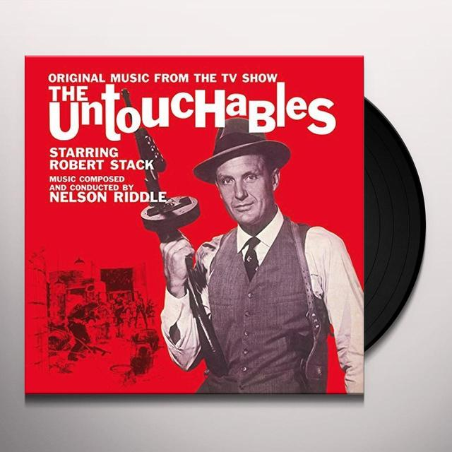 Nelson Riddle UNTOUCHABLES Vinyl Record