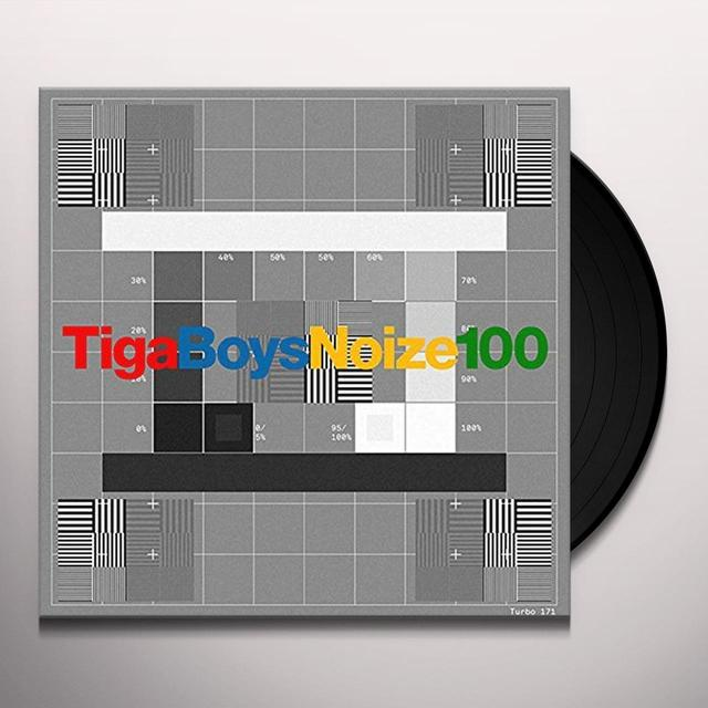 Tiga VS Boys Noize 100 Vinyl Record
