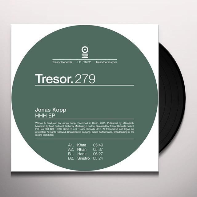 Jonas Kopp HHH (EP) Vinyl Record