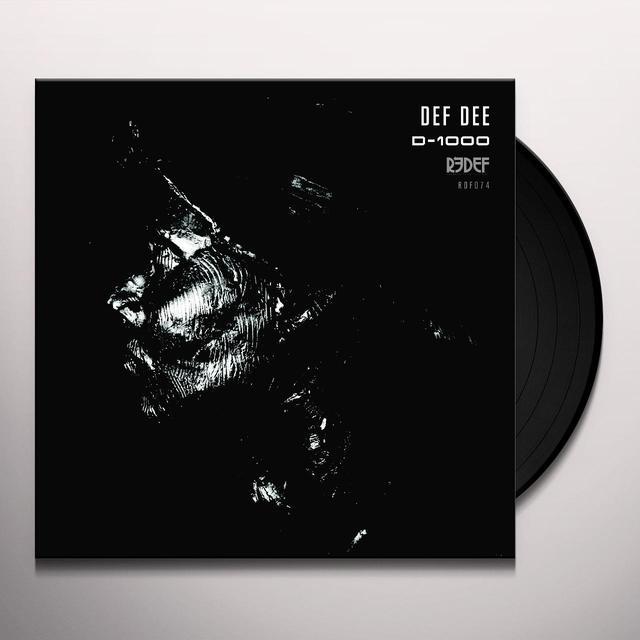Def Dee D-1000 Vinyl Record
