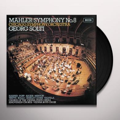 MAHLER / SOLTI / CHICAGO SYMPHONY ORCHESTRA SYMPHONY NO 8 Vinyl Record