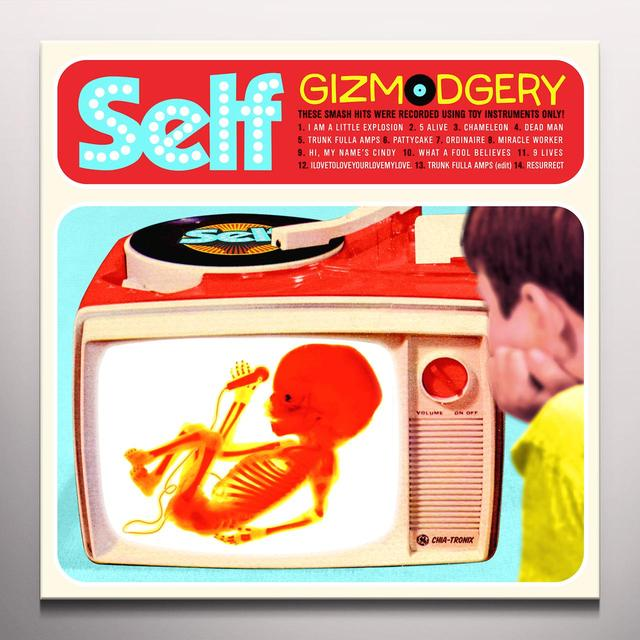 Self GIZMODGERY Vinyl Record - Blue Vinyl, Colored Vinyl, Limited Edition