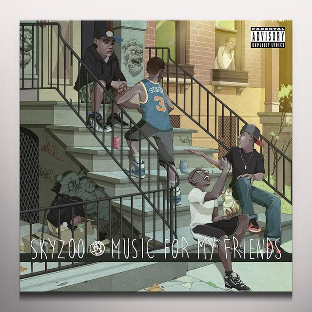 Skyzoo MUSIC FOR MY FRIENDS Vinyl Record - Colored Vinyl, Green Vinyl
