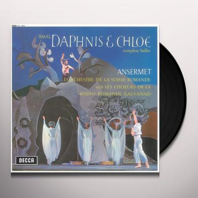 RAVEL / ANSERMET / L'ORCHESTRE DE LA SUISSE ROMAND DAPHNIS ET CHLOE (COMPLETE BALLET) Vinyl Record