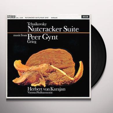 Tchaikovsky / Herbert Von Karajan / Weiner Philhar NUTCRACKER SUITE / GRIEG: PEER GYNT Vinyl Record