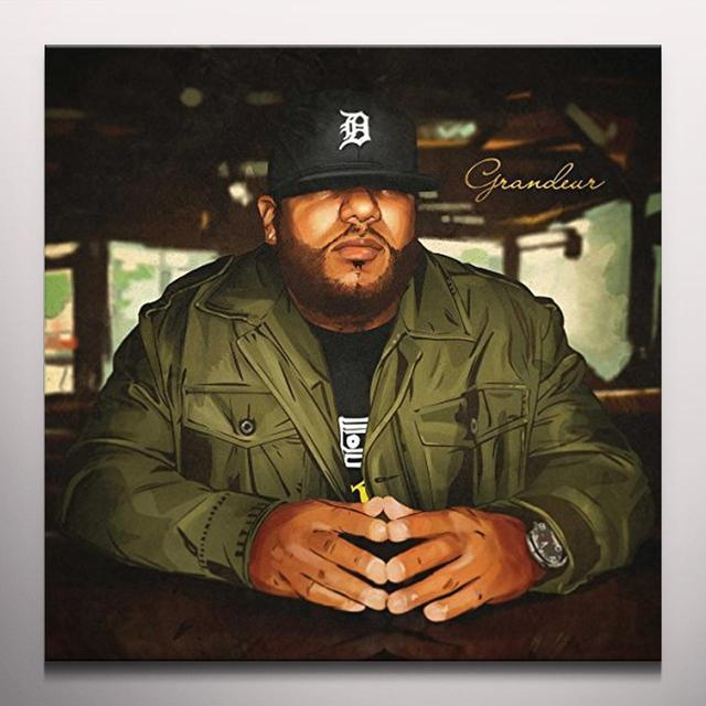 Apollo Brown GRANDEUR Vinyl Record - Colored Vinyl