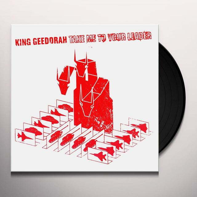 King Gheedorah TAKE ME TO YOUR LEADER Vinyl Record - Gatefold Sleeve, 180 Gram Pressing, Digital Download Included