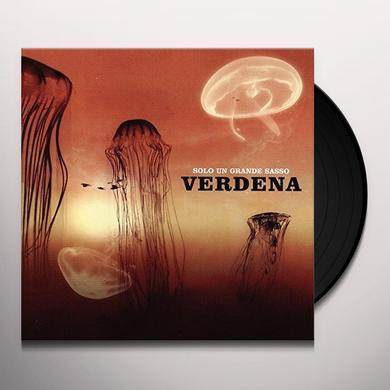 Verdena SOLO UN GRANDE SASSO Vinyl Record
