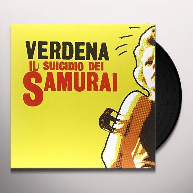Verdena IL SUICIDIO DEL SAMURAI Vinyl Record - Italy Import
