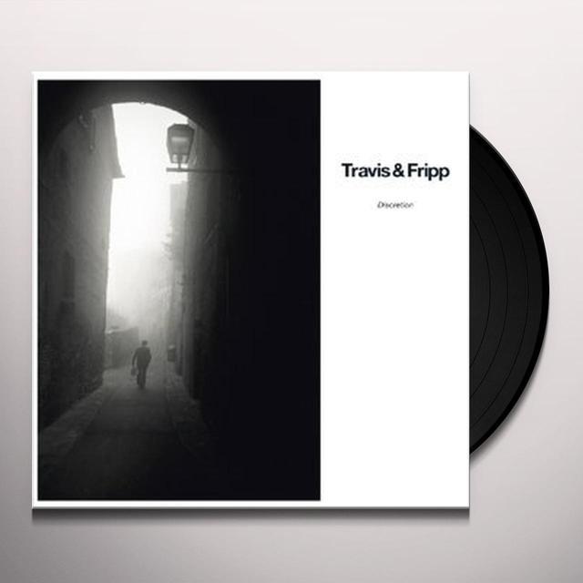 Robert Fripp / Theo Travis DISCRETION Vinyl Record - Holland Import