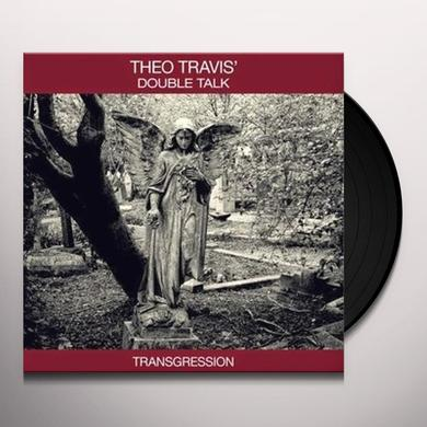 Theo Travis TRANSGRESSION Vinyl Record