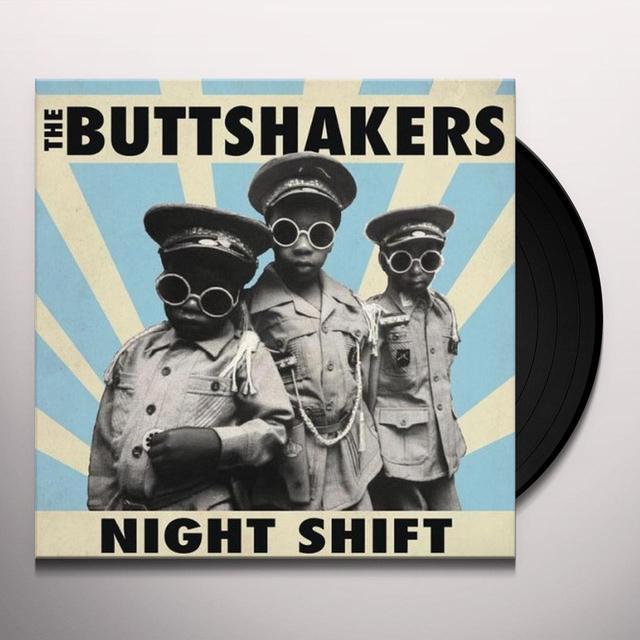 BUTTSHAKERS NIGHT SHIFT Vinyl Record - UK Import