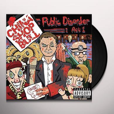 CHINA SHOP BULL PUBLIC DISORDER: ACT 1 Vinyl Record - UK Import