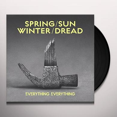 Everything Everything SPRING/SUN/WINTER/DREAD Vinyl Record - UK Import