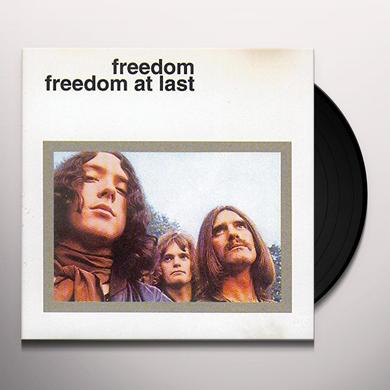 FREEDOM AT LAST Vinyl Record - UK Import