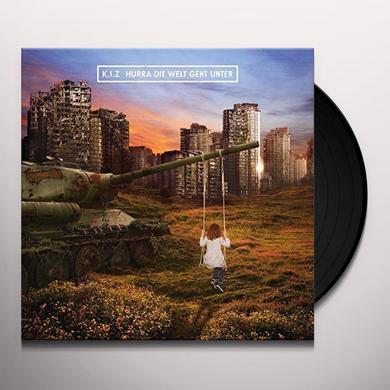 K.I.Z. HURRA DIE WELT GEHT UN (GER) Vinyl Record