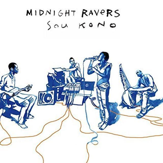 MIDNIGHT RAVERS BALANI SHOW Vinyl Record