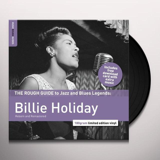 Billie Holiday ROUGH GUIDE TO BILLIE HOLLIDAY Vinyl Record - UK Import