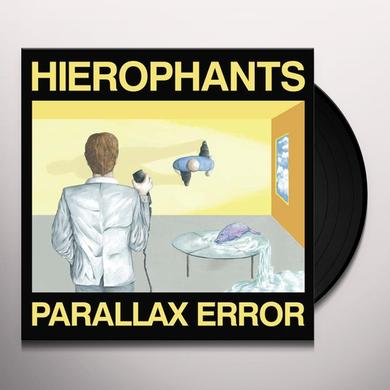HIEROPHANTS PARALLAX ERROR Vinyl Record