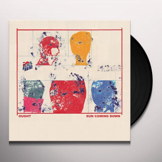 Ought SUN COMING DOWN Vinyl Record - 180 Gram Pressing, Digital Download Included