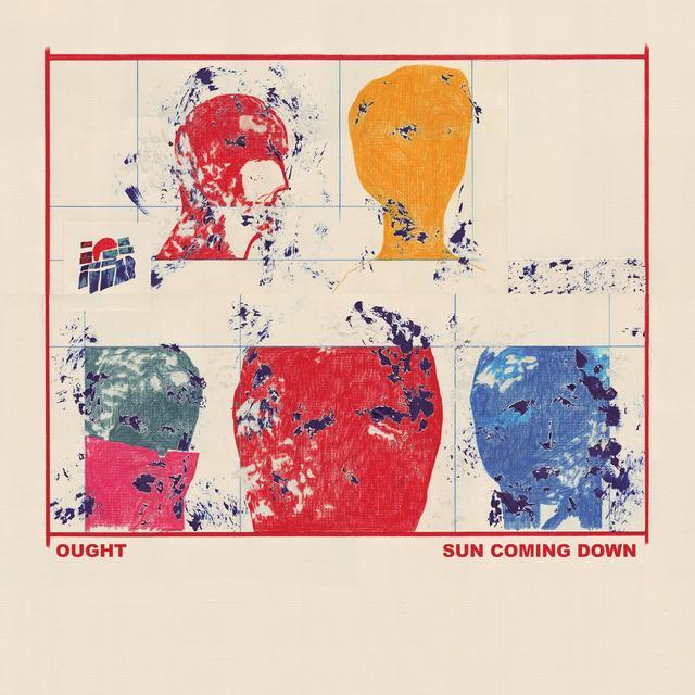 Ought SUN COMING DOWN Vinyl Record