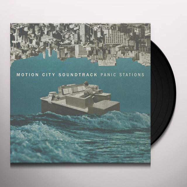 Motion City Soundtrack PANIC STATION Vinyl Record - Digital Download Included