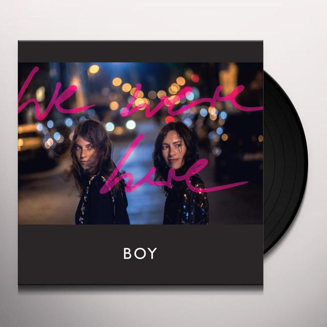 Boy WE WERE HERE Vinyl Record - w/CD