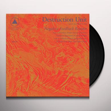Destruction Unit NEGATIVE FEEDBACK RESISTOR Vinyl Record