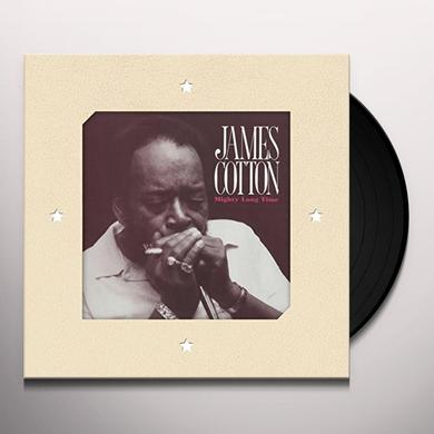 James Cotton MIGHTY LONG TIME Vinyl Record