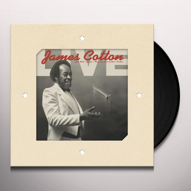 James Cotton LIVE AT ANTONE'S NIGHTCLUB Vinyl Record - 180 Gram Pressing, Digital Download Included