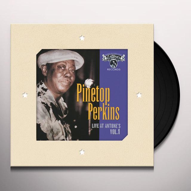 Pinetop Perkins LIVE AT ANTONE'S 1 Vinyl Record - 180 Gram Pressing, Digital Download Included