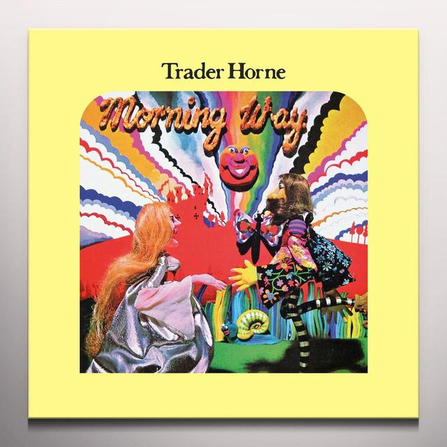 TRADER HORNE MORNING WAY Vinyl Record - Limited Edition, Red Vinyl, Digital Download Included