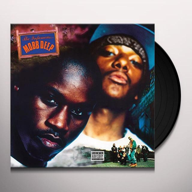 Mobb Deep INFAMOUS Vinyl Record - Holland Import