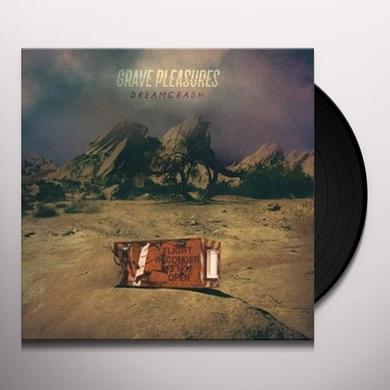 Grave Pleasures DREAMCRASH (HK) Vinyl Record